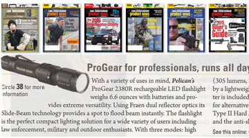 pelican products review law enforcement product 2380R flashlight