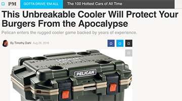 pelican products reviews popular mechanics elite coolers