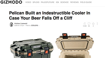 pelican products reviews gizmodo coolers elite cooler