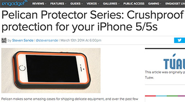 pelican products reviews engadget iphone 5/5s protector case