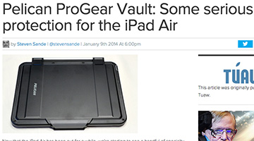 pelican products reviews engadget apple ipad air vault case