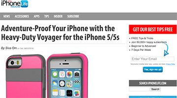 pelican products reviews iphonelife apple iphone voyager case