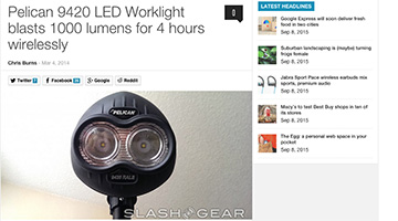 pelican products reviews slashgear 9420 remote area light