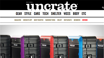 pelican products reviews uncrate progear elite luggage suitcase