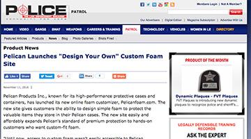 pelican products reviews pelicanfoam custom foam police magazine
