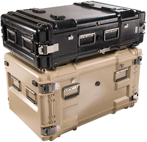 pelican products composite rackmount hard protective cases