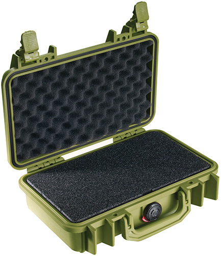 pelican products 1170 usa made pistol cases watertight