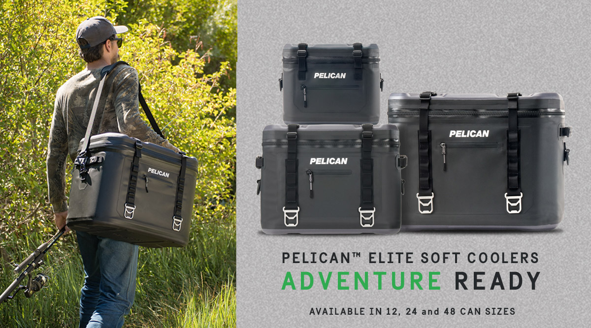 pelican products consumer soft coolers camping fishing