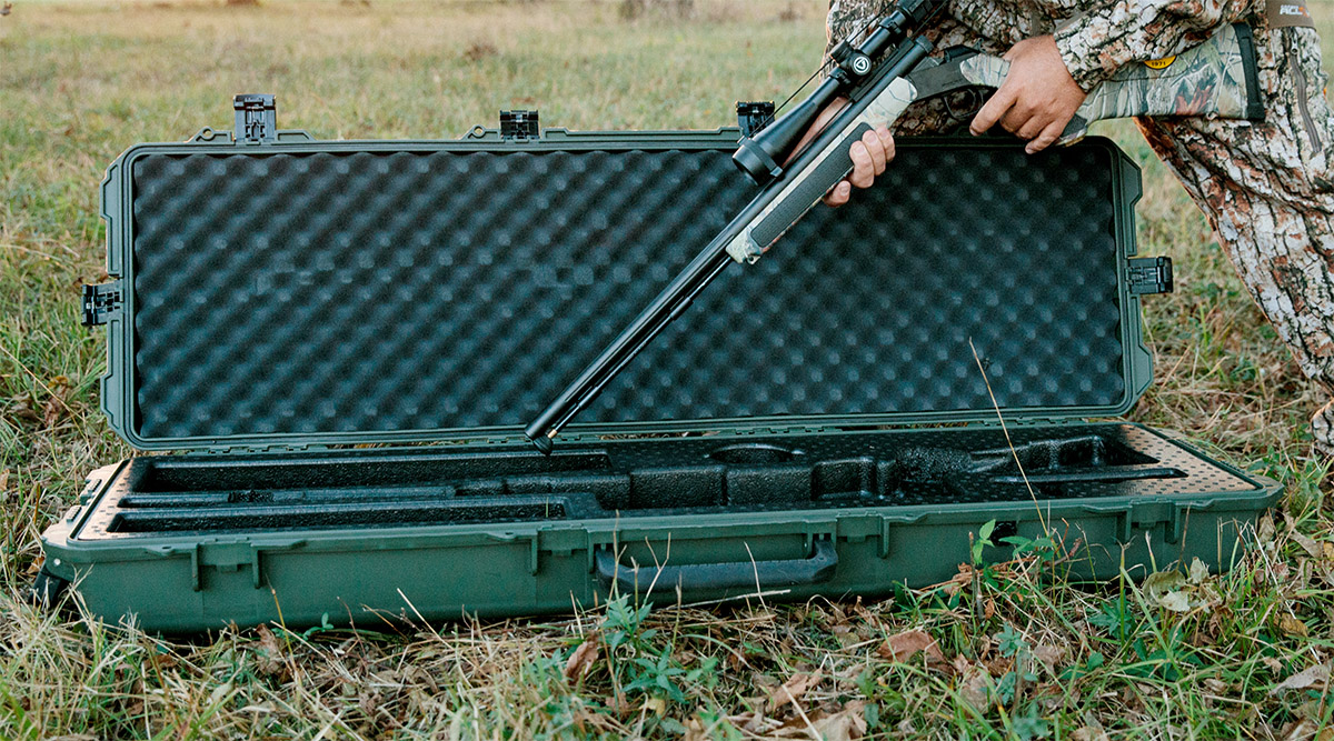 pelican products hunting rifles cases and rifle case