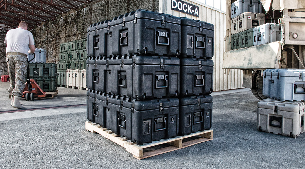 pelican products isp cases pallet case