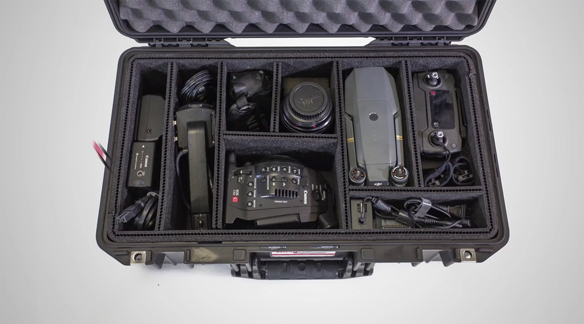 pelican professional products trekpak camera cases