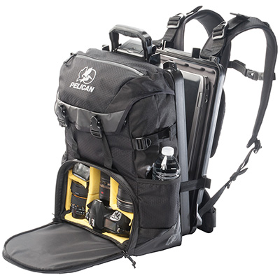 Pelican Products S130 camera backpack with case