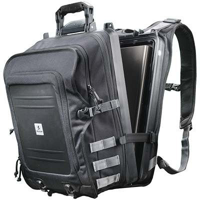 pelican peli products U100 waterproof hard laptop backpack