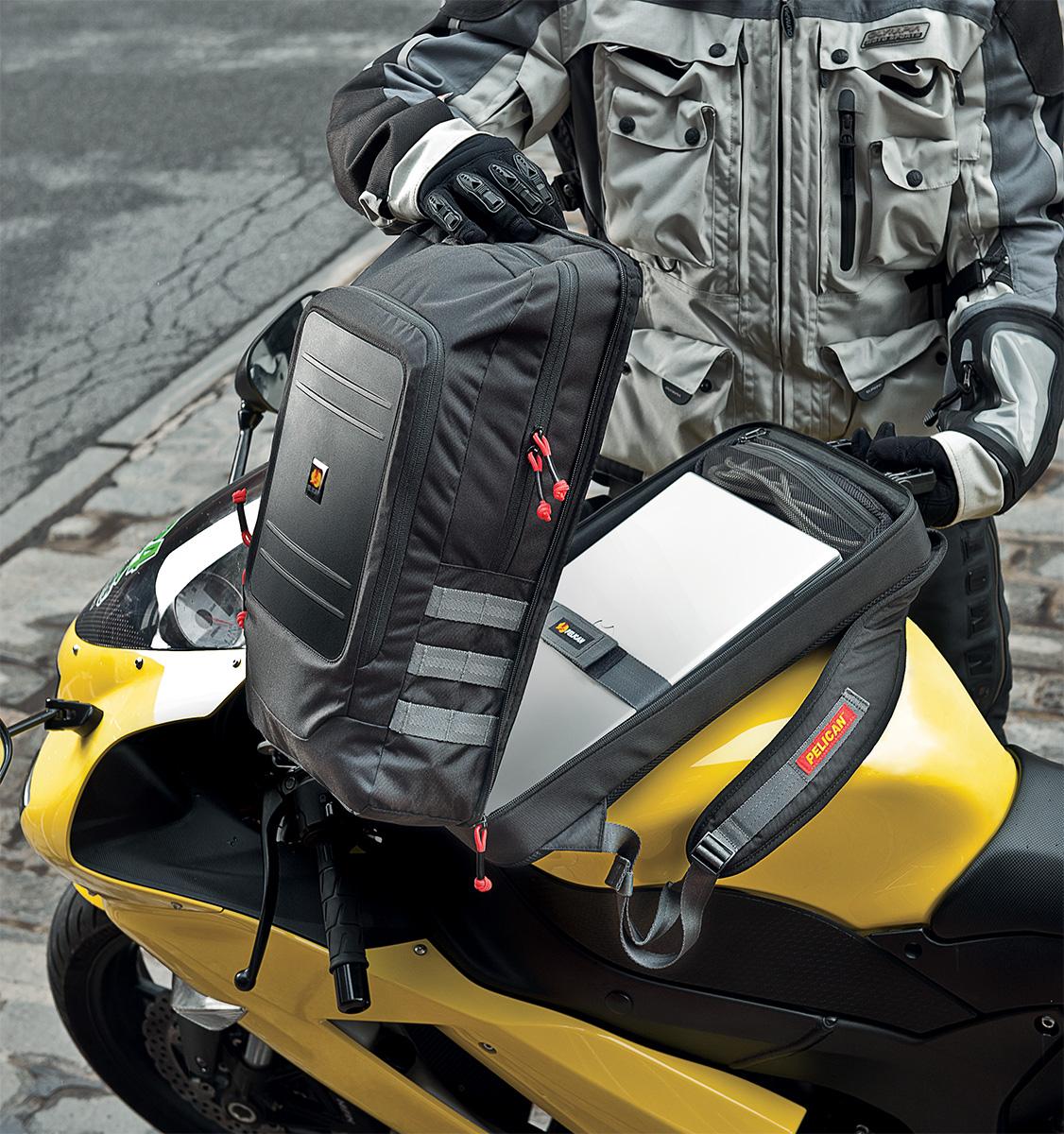 pelican peli products U105 motorcycle waterproof backpack