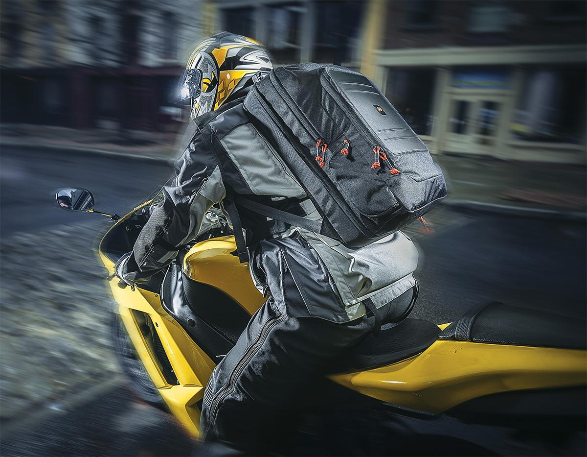 pelican peli products U105 motorcycle weatherproof backpack