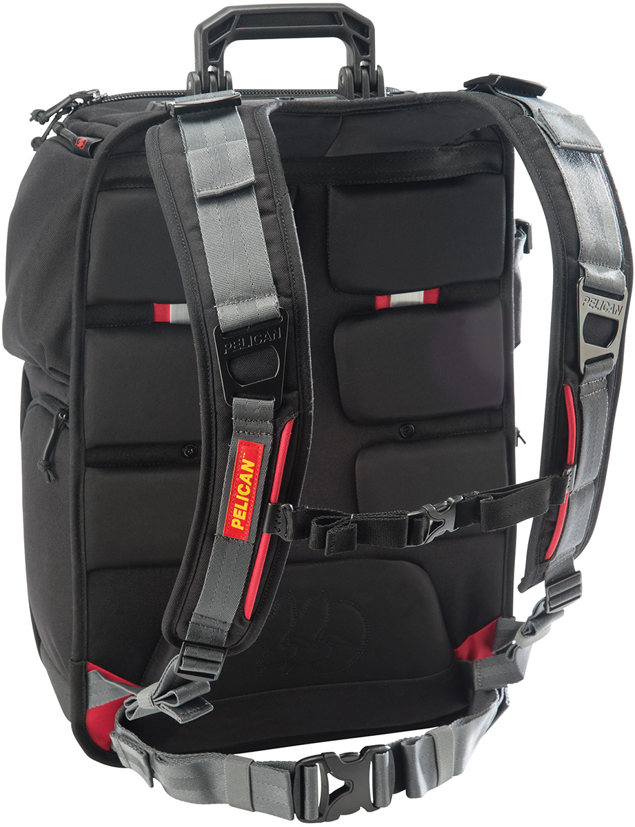 pelican peli products U160 rugged tough camera hard backpack