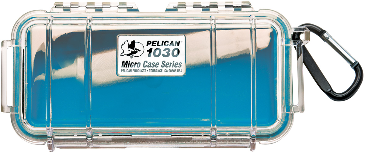 pelican peli products 1030 watertight blue protective case
