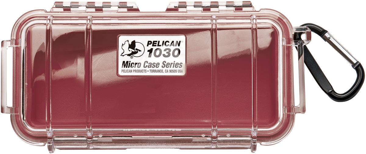 pelican peli products 1030 survival waterproof red hard case