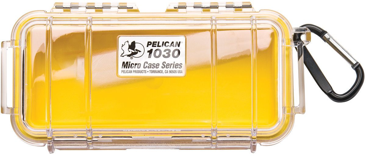 pelican peli products 1030 survival waterproof red rigid case