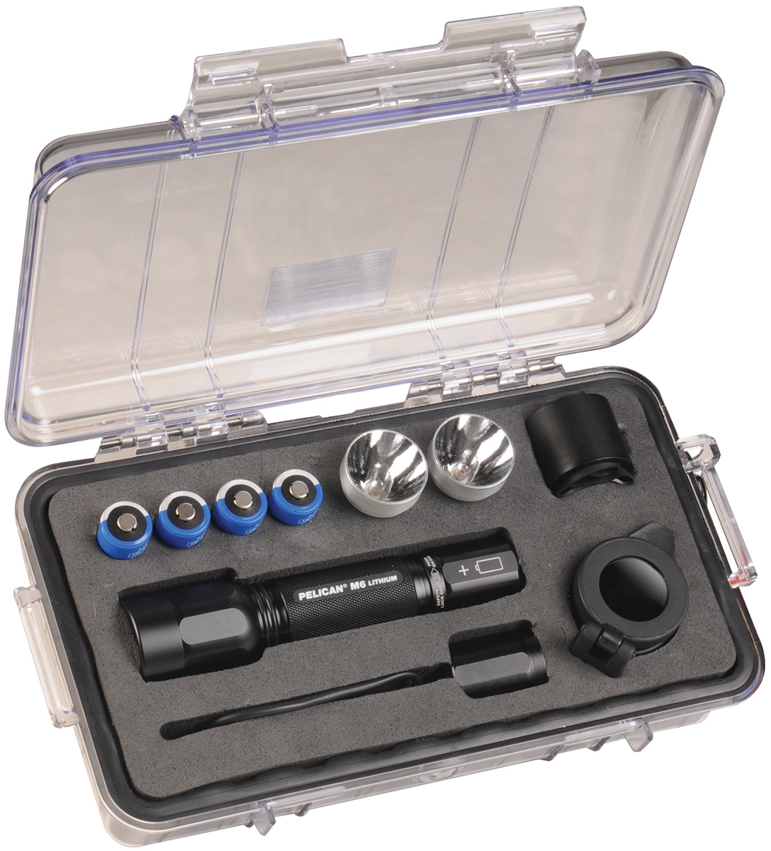 pelican peli products 1060 strong flashlight hard protective case