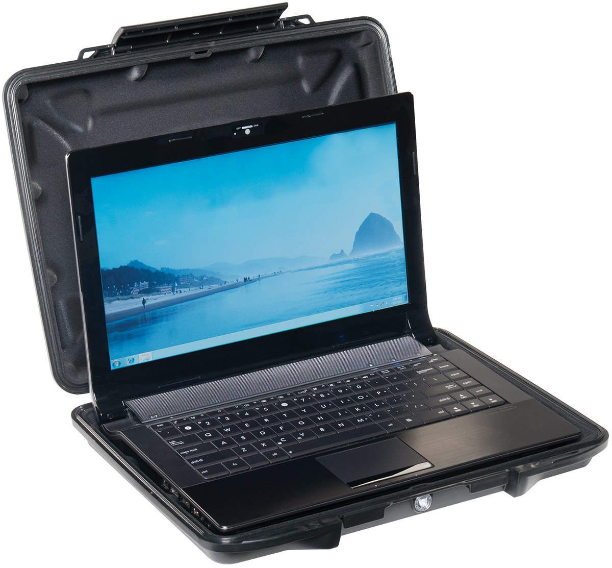 pelican peli products 1085CC rugged crushproof laptop hardcase