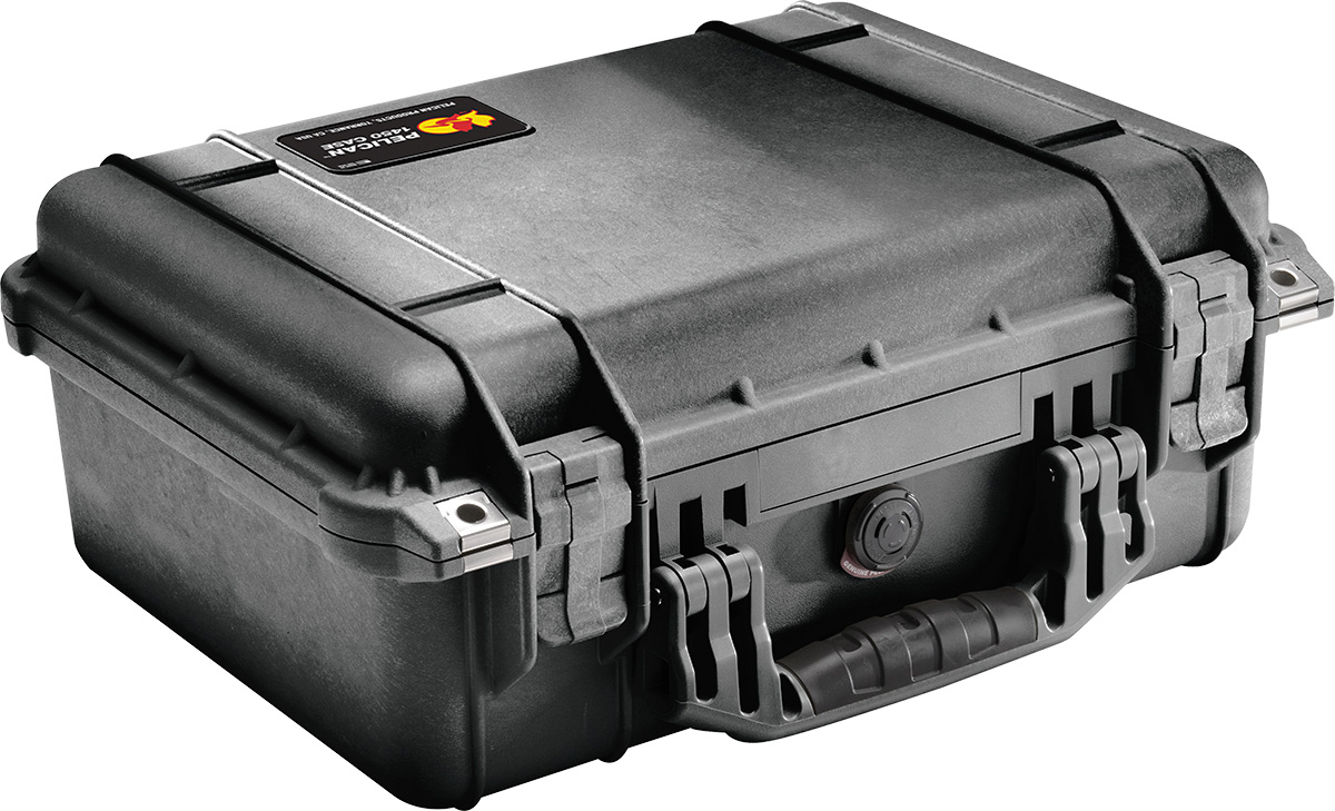 pelican peli products 1450 hard watertight lifetime case