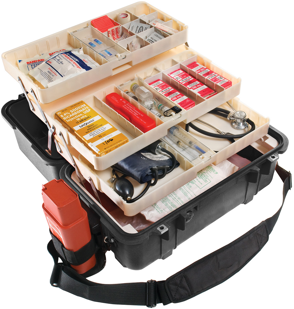 pelican peli products 1460EMS ems medical parametic box case
