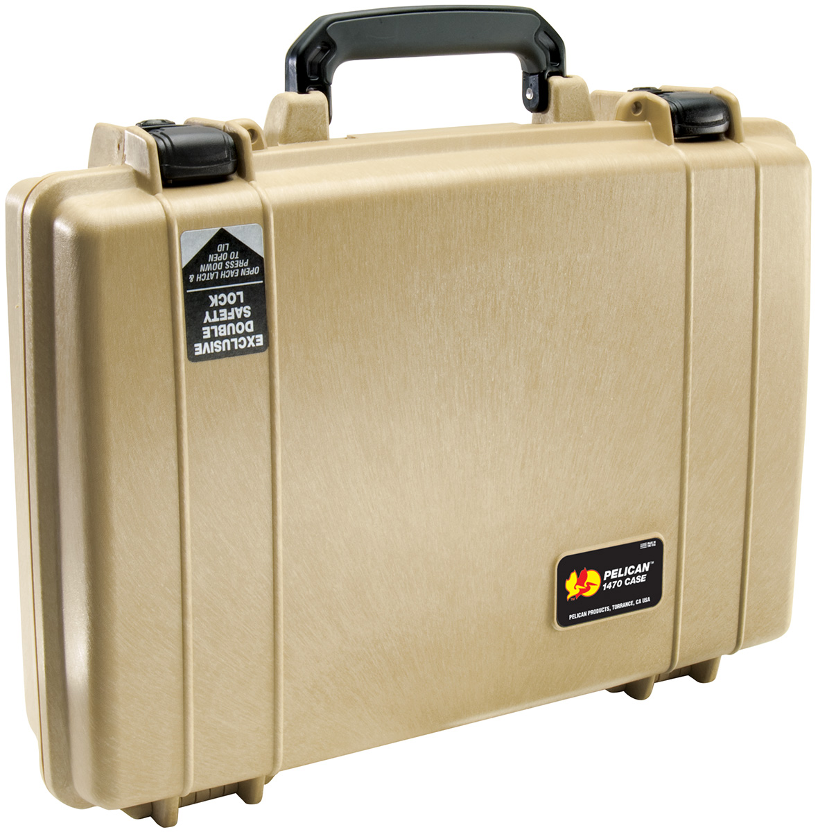 pelican peli products 1470 case watertight laptop briefcase