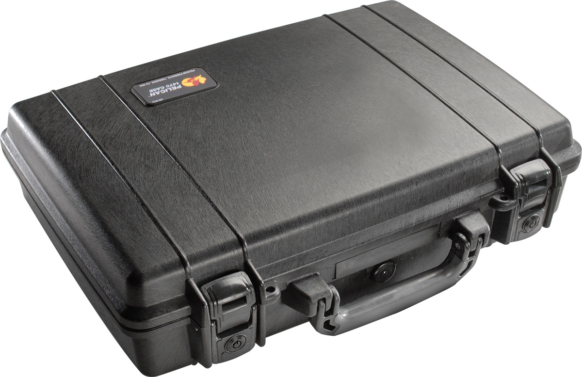 pelican peli products 1470 hard case watertight laptop briefcase