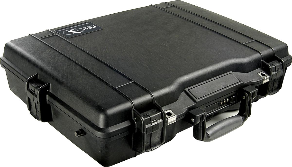 peli pelican products 1495 watertight hard briefcase laptop case