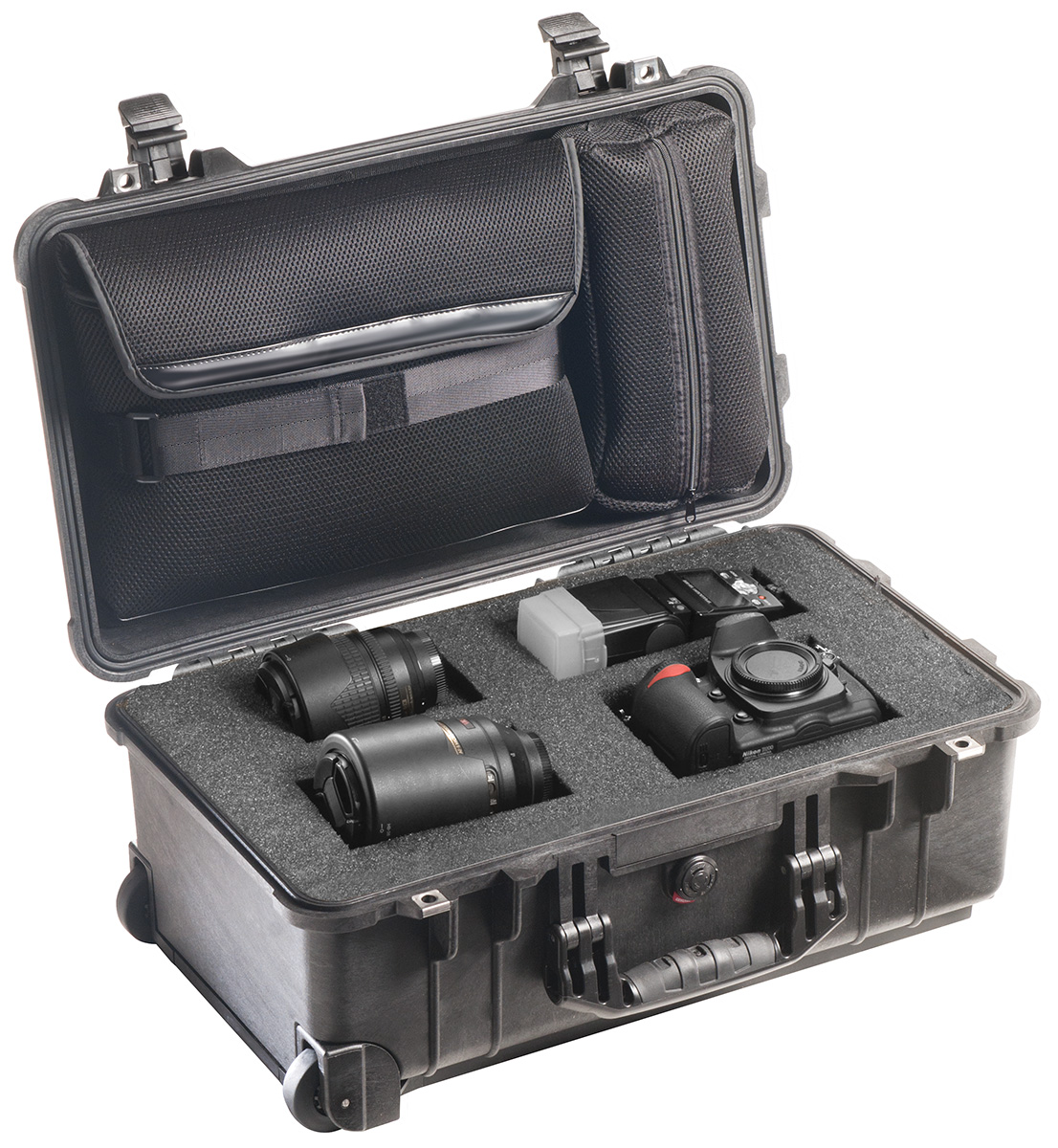pelican peli products 1510LFC professional rolling travel camera case