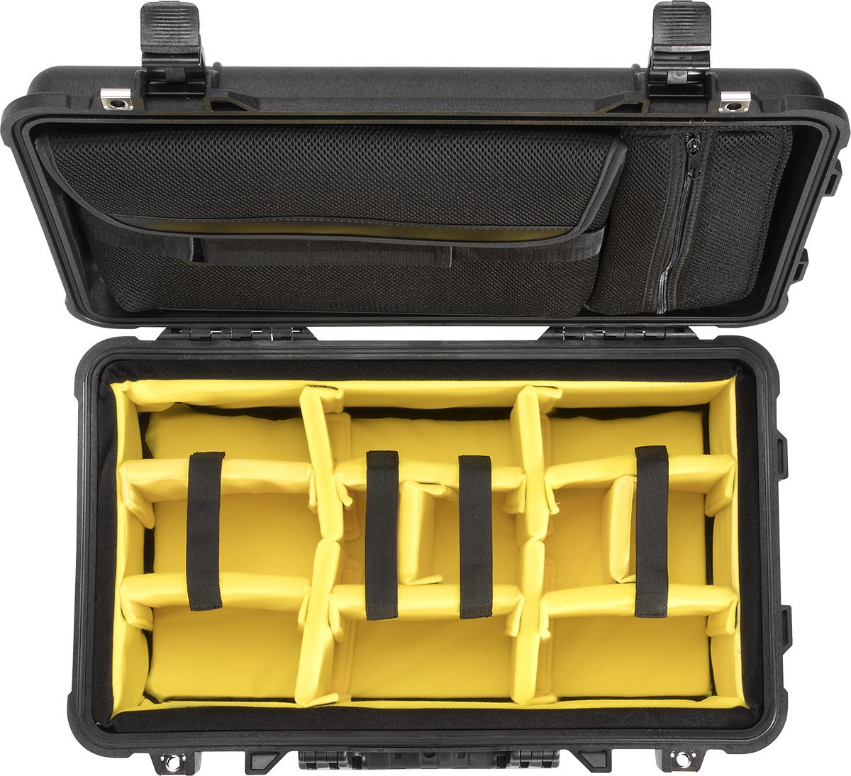 pelican peli products 1510SC camera laptop rolling travel hard case