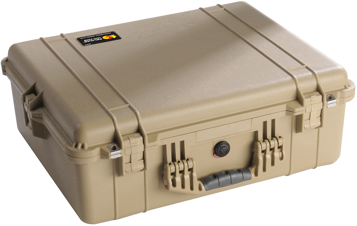 pelican peli products 1600 watertight equipment hard case