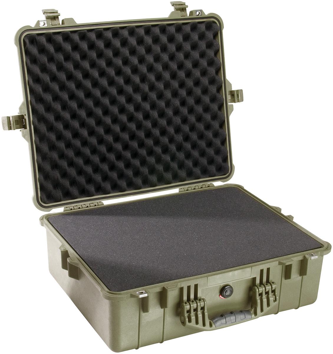 pelican peli products 1600 tough waterproof equipment case