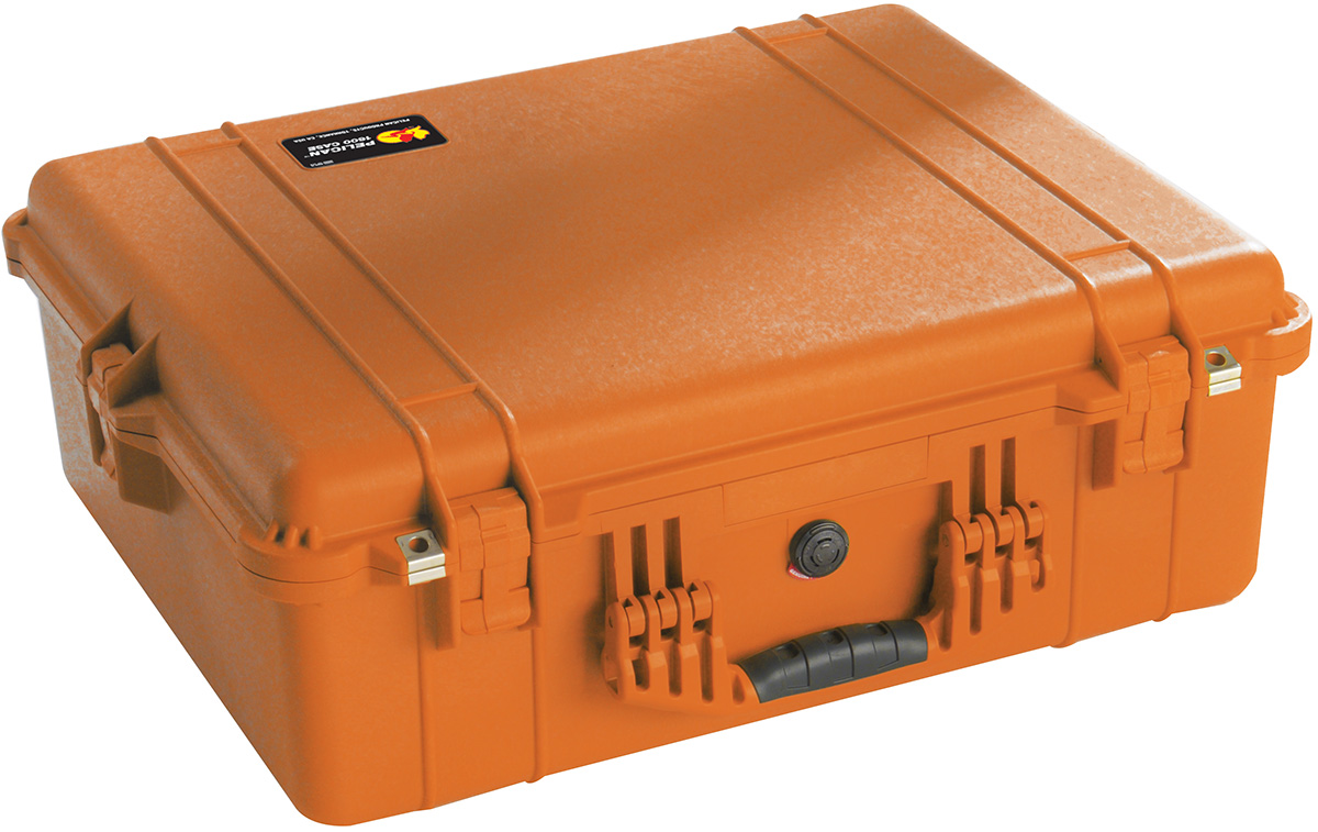 pelican peli products 1600EMS orange first aid emt case
