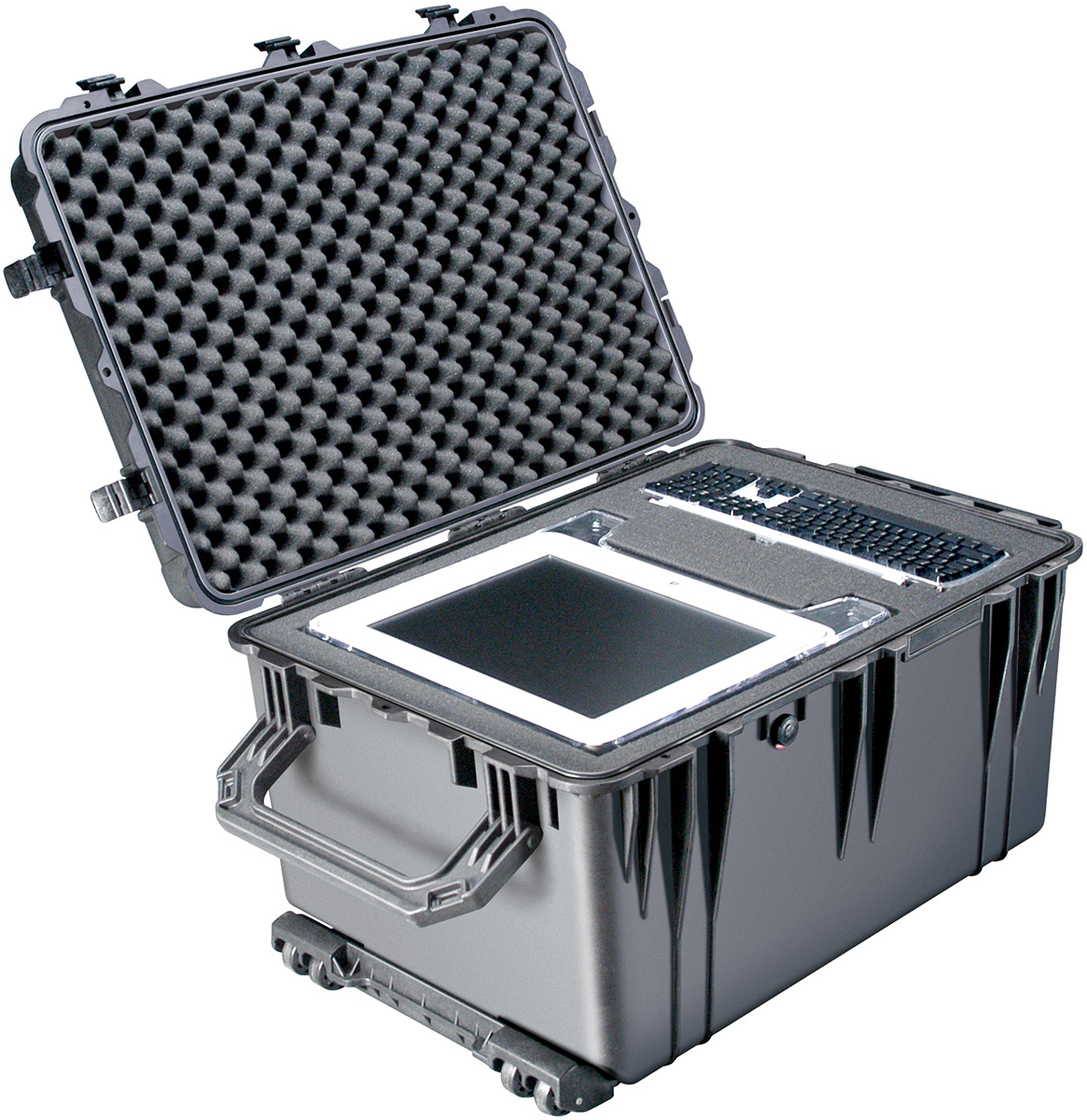 pelican peli products 1660 large case electronics transport box