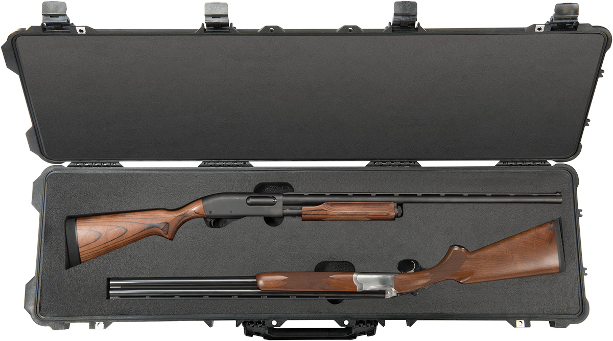 pelican peli products 1750 hard shotgun shot gun case