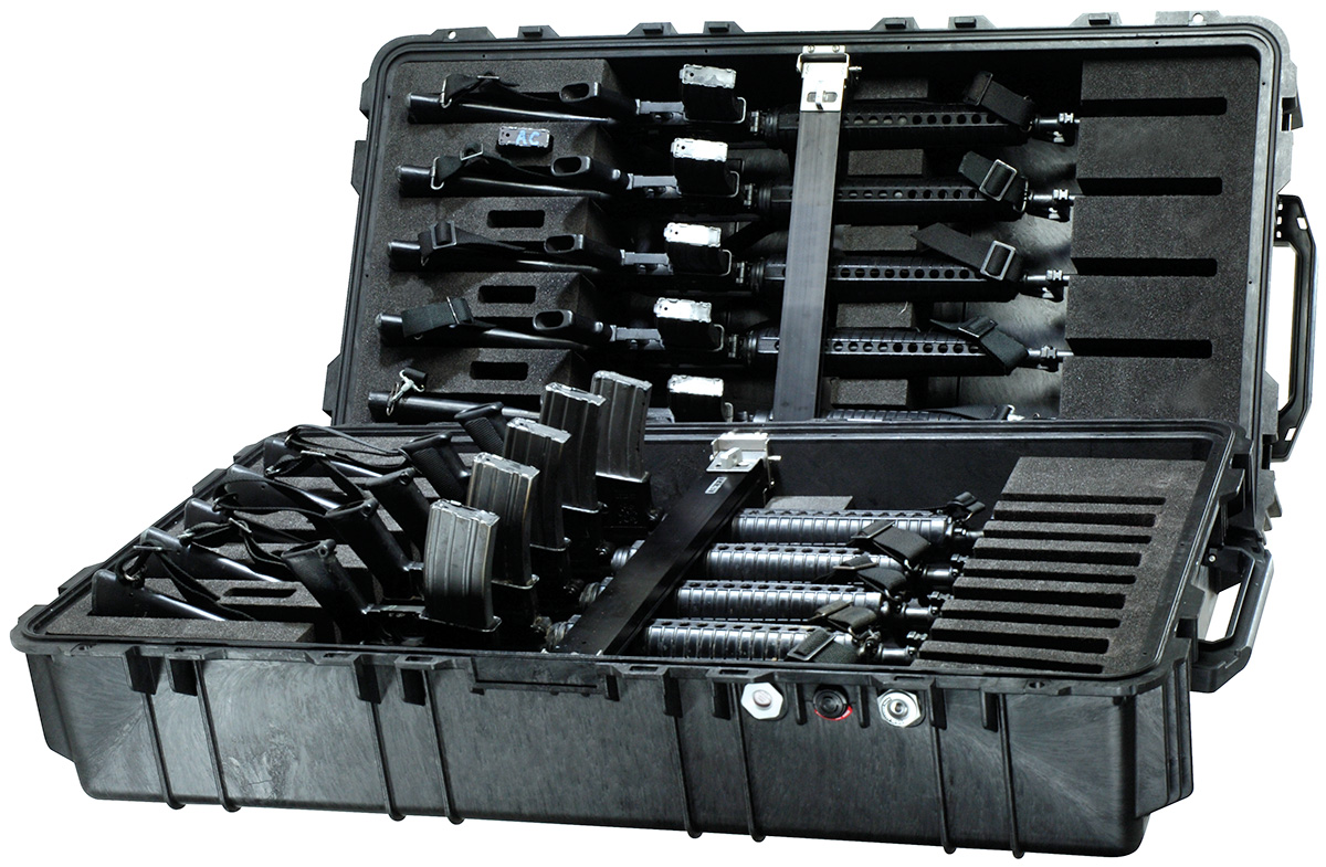 pelican peli products 1780HL rifle m16 ar15 military transport case