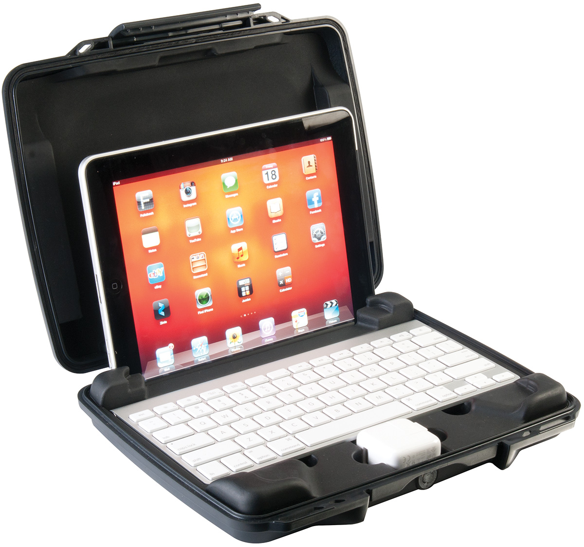 pelican peli products i1075 watertight hard ipad case