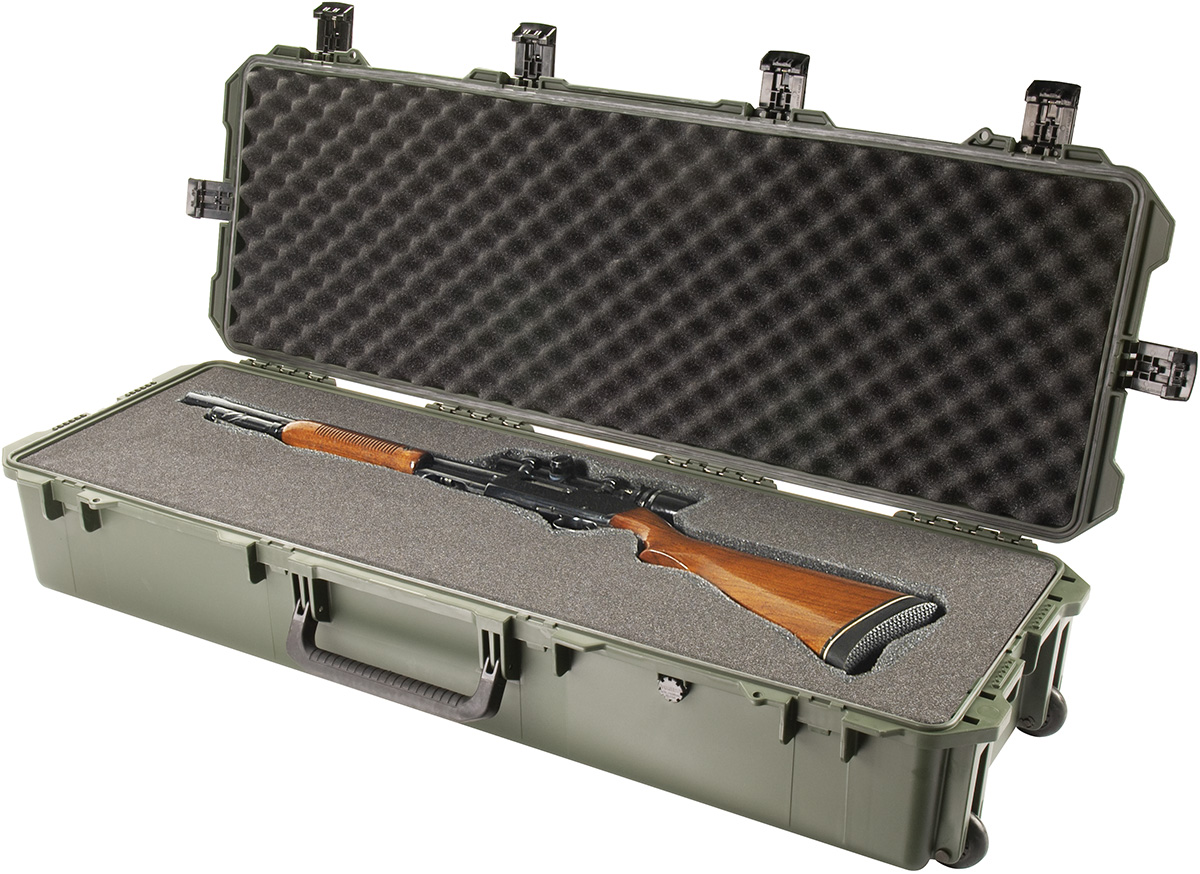 pelican peli products iM3220 storm hard weapon gun rolling case