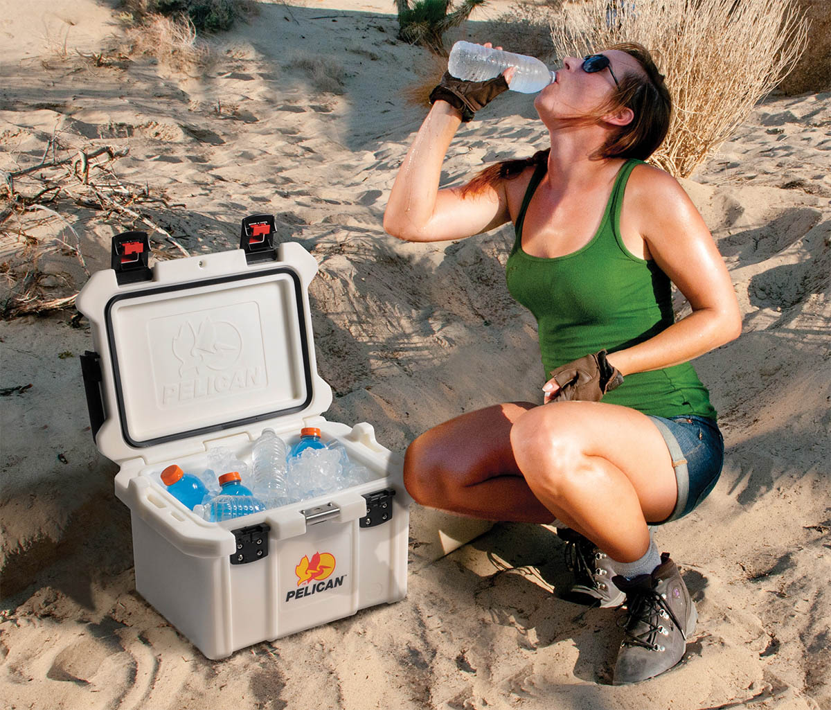 pelican peli products 20QT extreme ice retention chest cooler