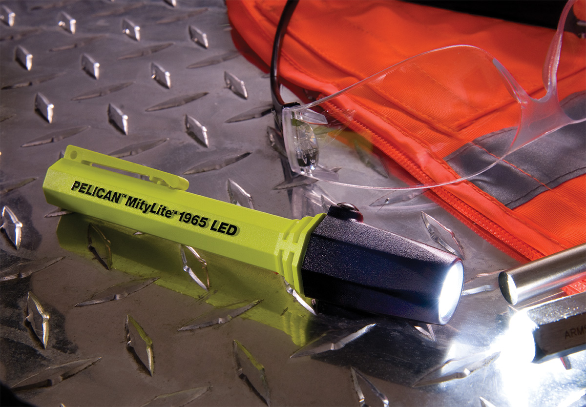 pelican peli products 1965 highest lumens led safety flashlight