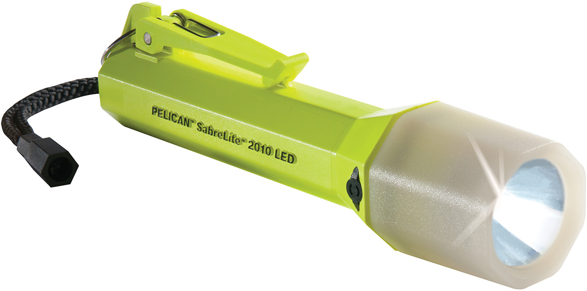 pelican peli products 2010PL safety approved emergency flashlight