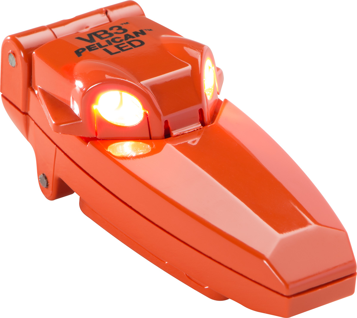 pelican peli products 2220 lumens police cop clip on led light