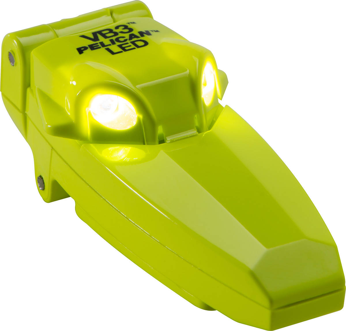 pelican peli products 2220 best yellow clipon shirt led light