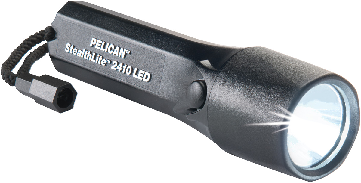 pelican peli products 2410 msha safety certified led flashlight