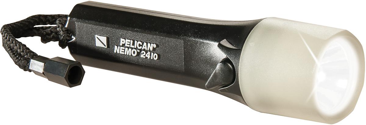 pelican peli products 2410N bright black water proof dive light