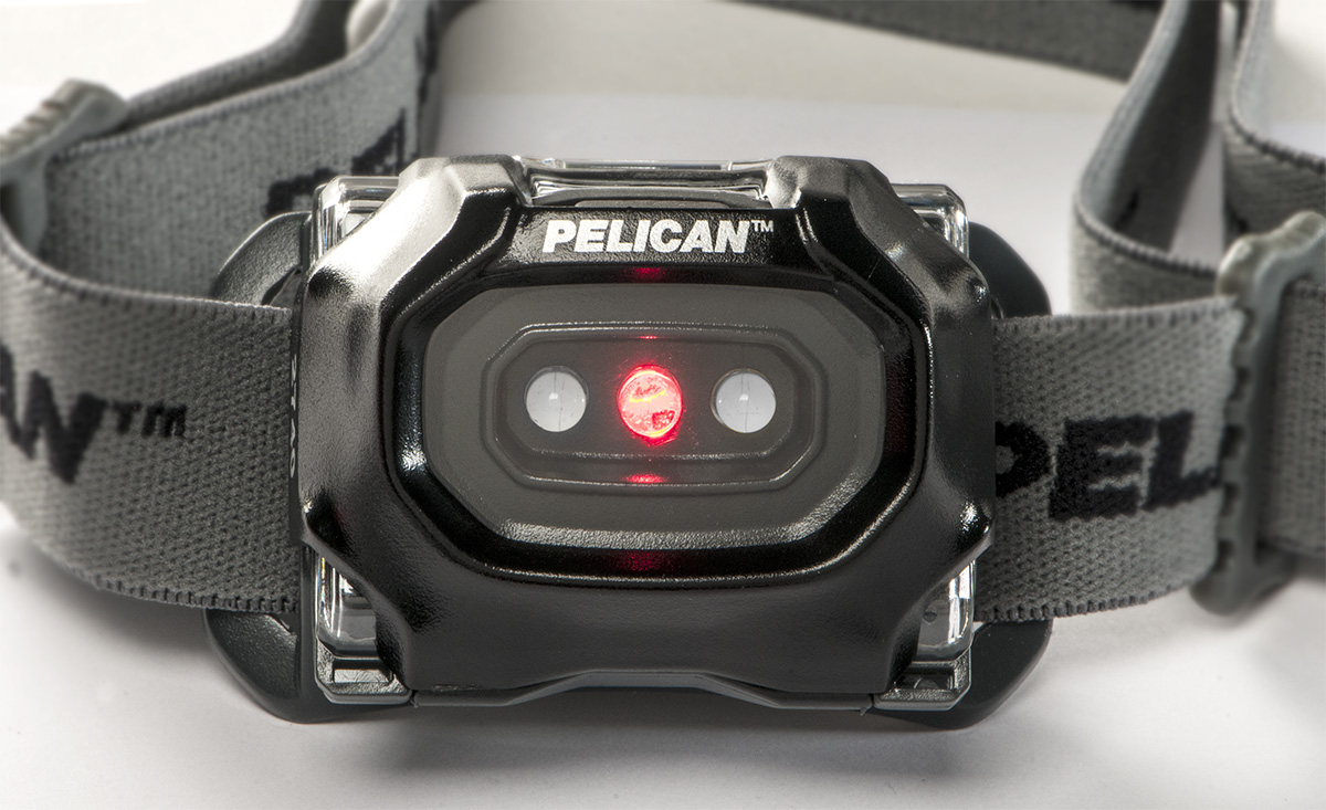 pelican peli products 2740 brightest led red night vision headlamp