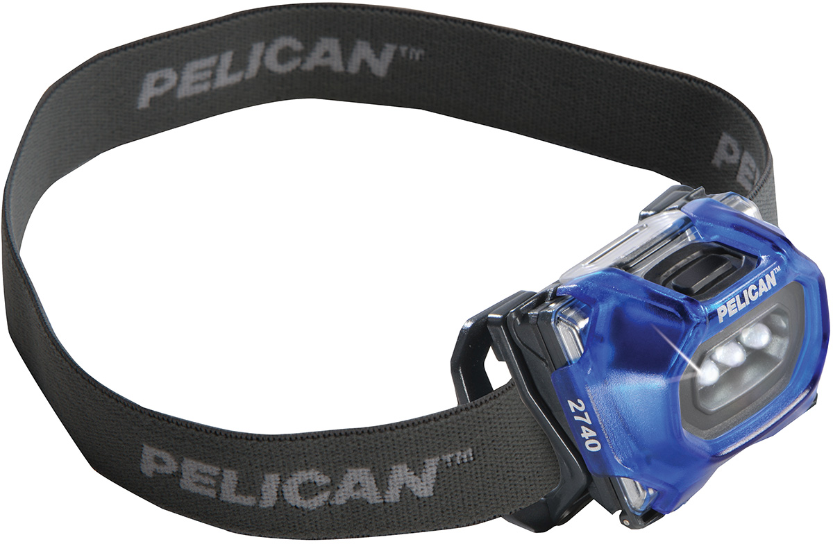pelican peli products 2740 led spot headlight hiking headlamp