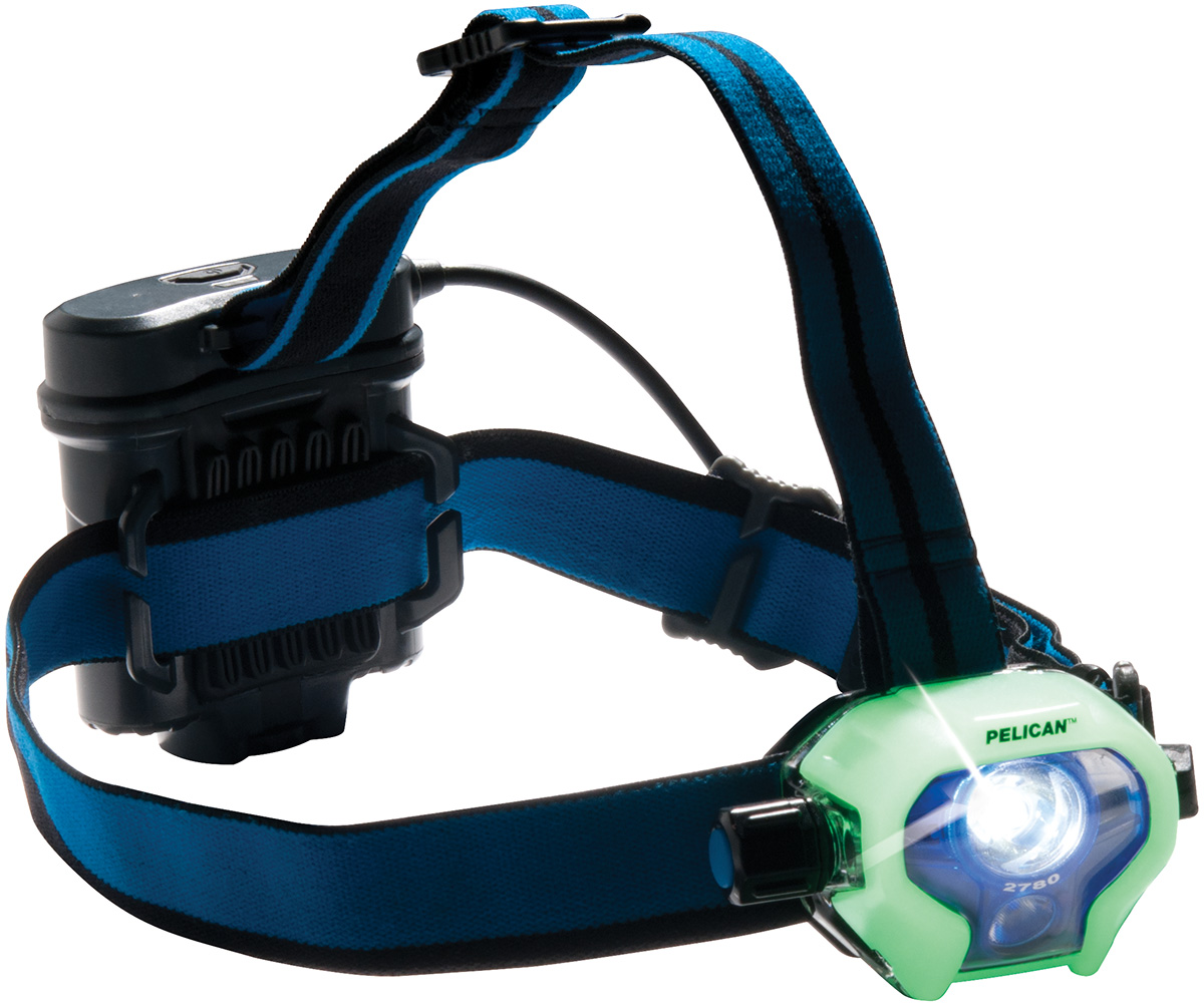 pelican peli products 2780 glow dark luminescent led headlamp